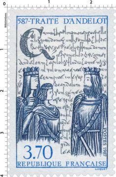 Postage stamp France