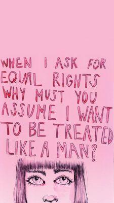 feminist lockscreen | Tumblr