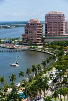SunFest Downtown West Palm Beach Florida