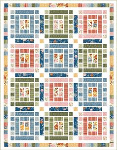 Inspired by Fabric: FREE Quilt Patterns