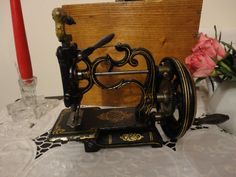 vecchia macchina da cucire charles raymond 1860
