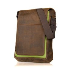 Green - Grizzly Leather