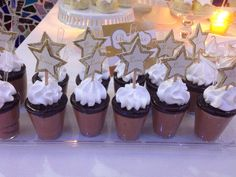 Stars desserts toppers