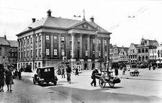 Groningen<br />Groningen: De Grote Markt in 1935