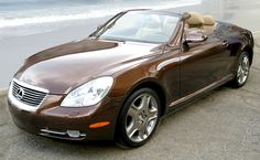 2006 SC 430 Lexus, Pebble Beach Edition. They don't make them anymore (2010 last year for the SC 430). Used to own one