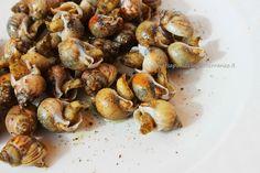 """i sapori del mediterraneo: Lumache di mare  """"e maruzzielli"""""""