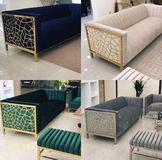 Couch Design, Living Room Sofa Design, Home Room Design, Home Living Room, Living Room Designs, Living Room Decor, Dining Room, Home Decor Furniture, Luxury Furniture