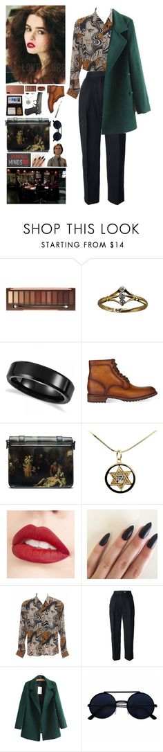 """""""Criminal Minds OC: Day #1"""" by mermer1324 ❤ liked on Polyvore featuring Urban Decay, Allurez, Magnanni, Dr. Martens, Trevco, Jouer, Dries Van Noten, CÉLINE and modern"""