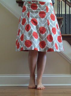 Two Sides of the Rainbow: Free-Style Handmade Skirt