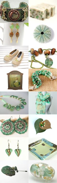 End of Summer Earth Tones by Allison and Sheryl on Etsy--Pinned with TreasuryPin.com