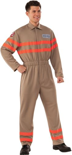 men's costume: kevin ghostbuster jump | xl