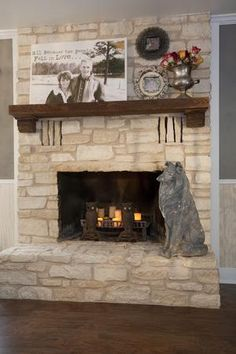 LOVE the mantle decorations featuring family photos, flowers and a small picture frame. See MORE Junk Gypsies room makeovers here>>  http://www.gactv.com/gac/on_shows_a-z/article/0,,GAC_26074_6067523,00.html
