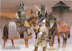 Russian Cavalry Early 16th Century