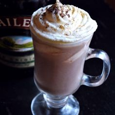 Bailey's hot chocolate   Turn your hot chocolate into a hot toddy with this Irish alternative (not one to share with the kids!).