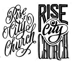 Rise City Church on Behance by Cory Say