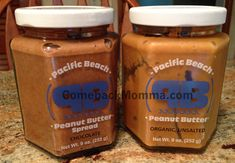 Pacific Beach Peanut Butter - healthy snacking