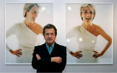 Mario Testino photographed Princess Diana for Vanity Fair in July 1997, one month before her death