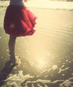 ... miss the feel of wet sand under my feet.