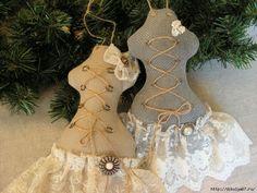 dressform ornaments