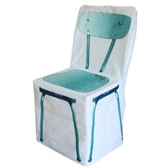 Fitih Zip Chair Cover Turquoise, 65€, now featured on Fab.