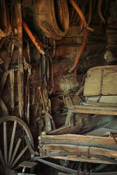 Rugged Old wagon...