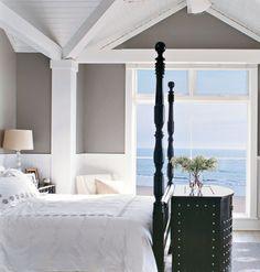 Ocean view, walls, ceiling