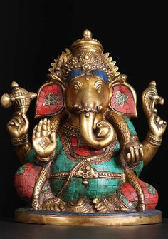 View the Large Ganesh Statue with Stones Lord Shiva Hd Wallpaper, Lord Vishnu Wallpapers, Sri Ganesh, Lord Ganesha, Hindu Deities, Hinduism, Hindu Statues, Ganesh Statue, Lord Shiva Family