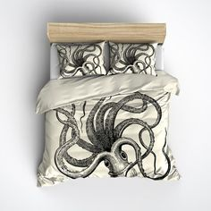 Octopus Duvet Cover For The Extreme Wings Lover Haha