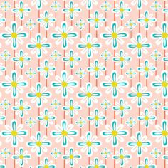 Flower Power  fabric by heatherdutton on Spoonflower - custom fabric