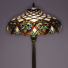 Tiffany style floor lamp 18w stained glass pinterest floor lamp tiffany style floor lamp 18w stained glass pinterest floor lamp tiffany and glass aloadofball Images
