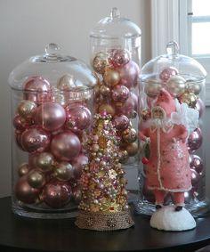 pink christmas by sweetjessie, via Flickr