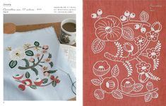 12 Months Embroidery by Yumiko Higuchi Japanese by pomadour24