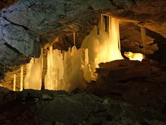 Kungur Ice Cave in the Perm region, Russia.    Photo credit: Environmental Protection Department of the Perm www.permecology.ru
