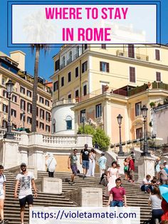 A guide to the best neighborhoods to stay in Rome. Trastevere is only one of these areas where tourists and travelers can find everything they need. Whatever you choose, try to be close to the city center, as Rome has lots of monuments worth visiting. As Roma, Italy Travel Tips, Rome Travel, Rome Trastevere, Road Trip Europe, Road Trips, Best Of Rome, Rome Vacation, Day Trips From Rome