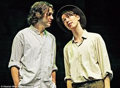 Dan Stevens and Rebecca Hall in As You Like It. I'd have loved to see her Rosalind.