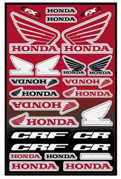 Factory Effex Generic Graphic Kit – –/Honda 07  13.5″ x 20″ sheet Perfect for older bikes where there are no full shroud kits available Printed on durable, scratch-resistant 8 mil. vinyl Includes die-cut stickers for shrouds, fenders, swing arms, and just about any place else   13.5″ x 20″ sheet 13.5″ x 20″ sheet Perfect for older bikes where there are no full shroud kits available 13.5″ x 20″ sheet 13.5″ x 20″ sheet Perfect for older bikes where there are no full shroud kits availab..