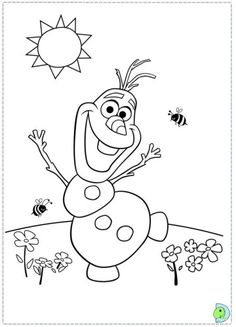 Just Coloring Pages: Olaf coloring pages from frozen Printable coloring sheets - Frozen Coloring Pages, Summer Coloring Pages, Colouring Pages, Printable Coloring Pages, Free Coloring, Coloring Pages For Kids, Coloring Sheets, Coloring Books, Kids Coloring