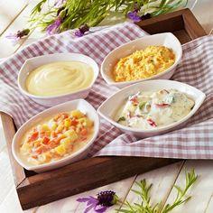 Einfache Varianten mit würzigen Dips für jedes Grillfest