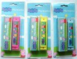 Peppa Pig Colourful HARMONICA & Case 13cm Promotes Musical Awareness