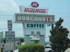 Krispy Kreme Pensacola, Fl, Cervantes.