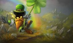 League Of Legends Leprechaun St Patricks Day Wallpaper Spring