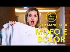 COMO TIRAR MANCHA DE MOFO E BOLOR (ROUPA COLORIDA) | A DICA DO DIA COM FLÁVIA FERRARI - YouTube