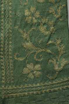 17th c., Detail, Italian Knit Jacket   Cleveland Museum of Art