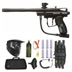 Spyder Victor Paintball Marker Gun 3Skull Sniper Set - Black. Available at Ultimate Paintball!!  http://www.ultimatepaintball.com/p-11349-spyder-victor-paintball-marker-gun-3skull-sniper-set-black.aspx