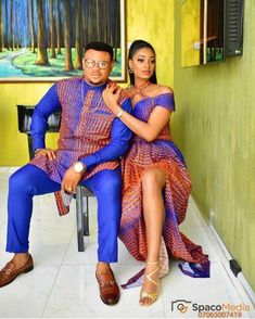 4 Factors to Consider when Shopping for African Fashion – Designer Fashion Tips Couples African Outfits, African Attire For Men, African Clothing For Men, Couple Outfits, African Wear, African Women, African Dress, African Clothes, African Style