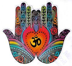"Om Hands - Spiritual Small Bumper Sticker / Decal (4"" x 4"") Coconut Creations http://www.amazon.com/dp/B00PHS8I04/ref=cm_sw_r_pi_dp_t-8Dwb0K2WY75"