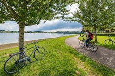 Valonia en bicicleta por los Lagos de l'eau d'heure