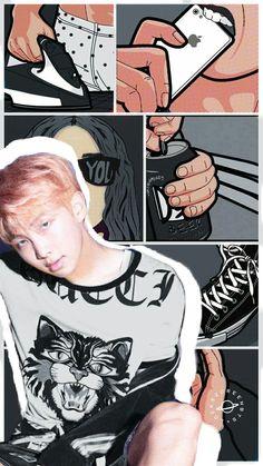 RapMon @BTS wallpapers for iPhone