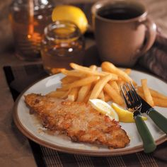 Honey-Fried Walleye Recipe -We fish on most summer weekends, so we have lots of fresh fillets. Everyone who tries this crisp, golden fish loves it. It's my husband's favorite, and I never have leftovers. Honey gives the coating a deliciously different twist. —Sharon Collis, Colona, Illinois