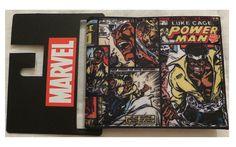 Marvel Luke Cage Bi-Fold Wallet New